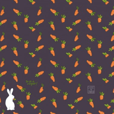 Doudou Carrots purple aubergine